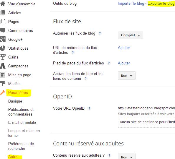 Parametres-autre-exporter-le-blog-blogger