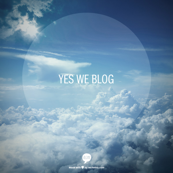 yesweblog-inthesky
