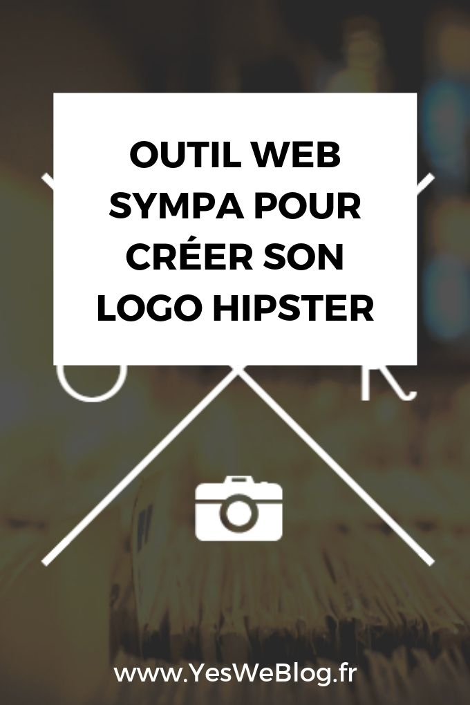 Outil web sympa pour créer son logo Hipster