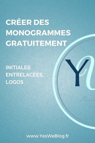 Créer des Monogrammes gratuitement