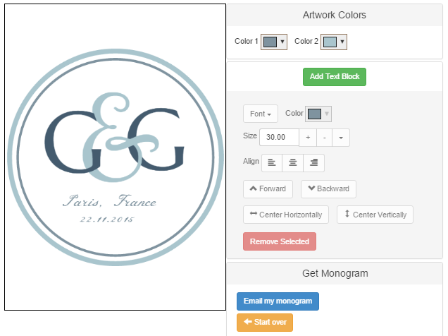 Creation logo lettre gratuit for Entreprise facile a creer