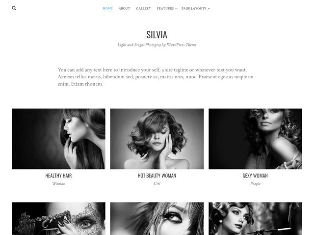 silvia-wp-theme