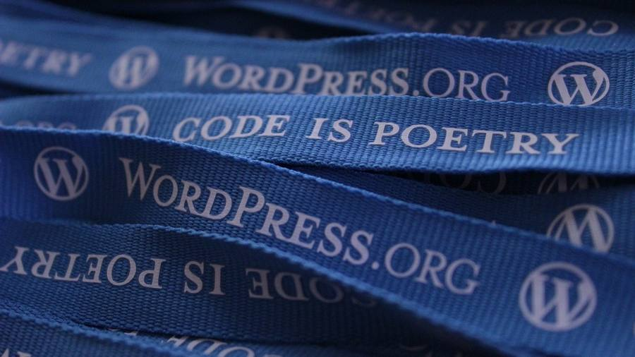 wordpress-ribbon-blue
