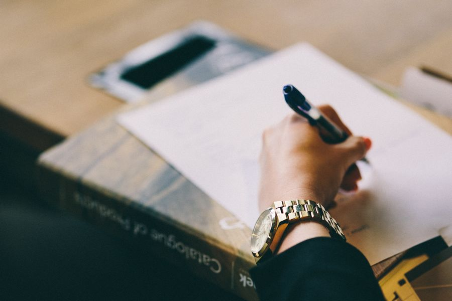 handwriting blog
