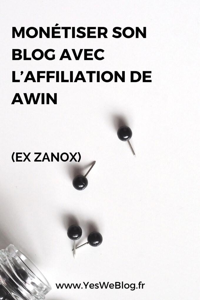 Monetiser son blog ou site avec l affiliation de Awin