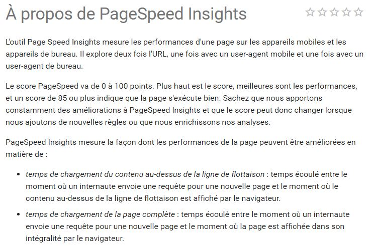 pagespeedinsight
