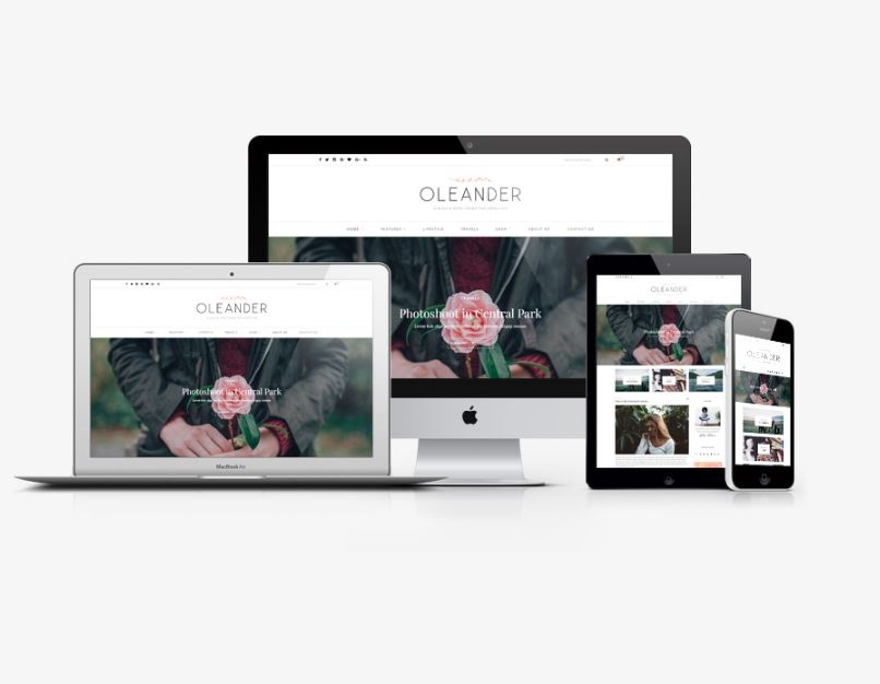 oleander-blog-shop-solopine-wordpress-theme