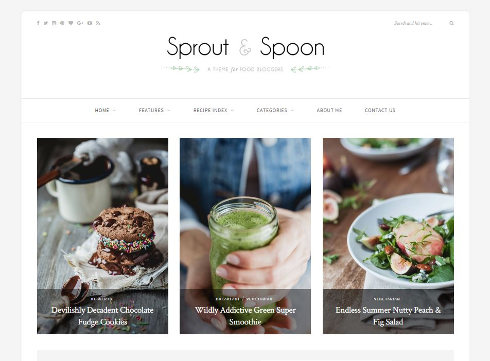 sprout-and-spoon-theme-wp-solopine