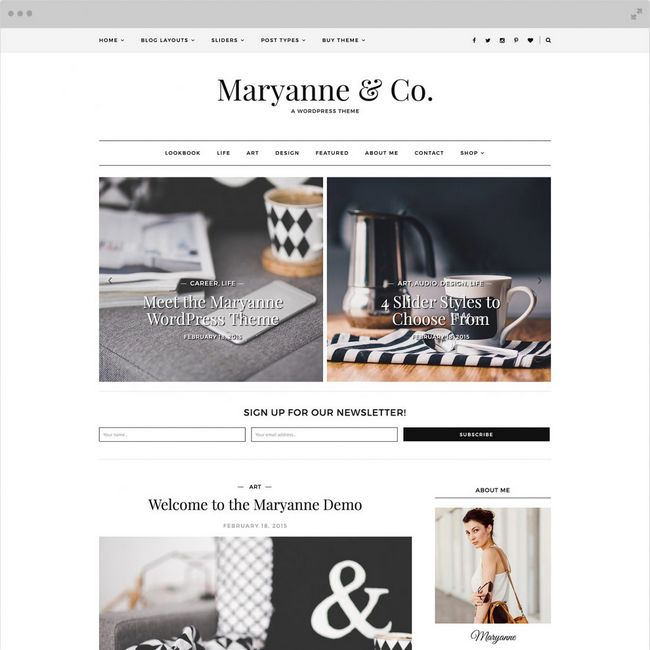 maryanne-wordpress-theme