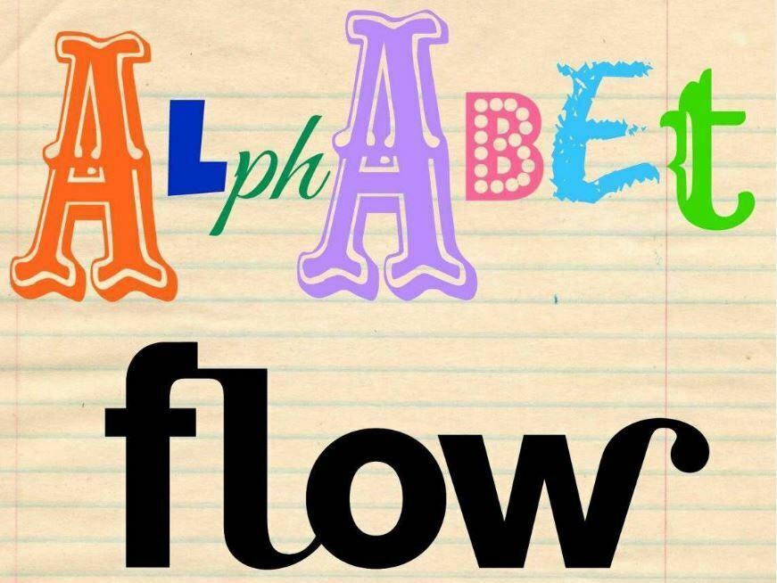 Challenge creatif Flow alphabet #flowalphabet