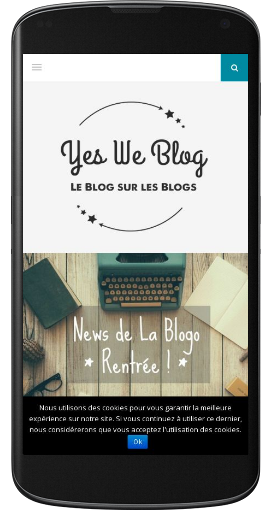 yesweblog mobile friendly