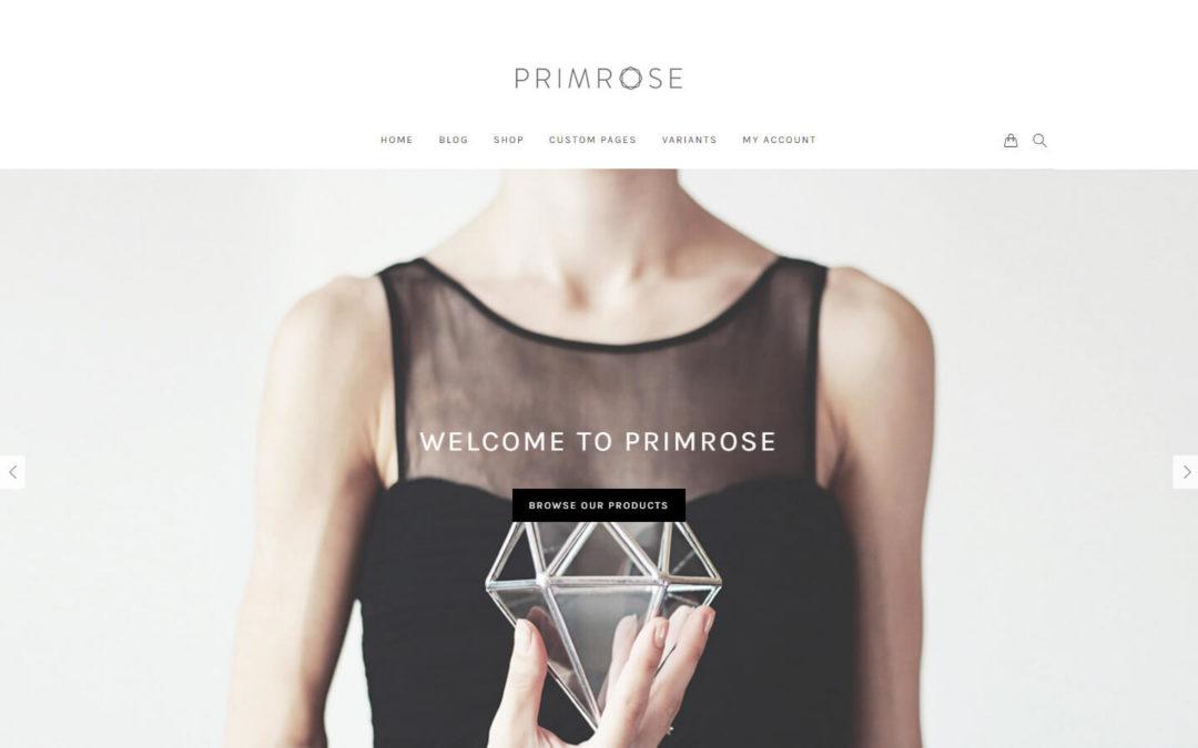 Primrose WooCommerce WordPress theme