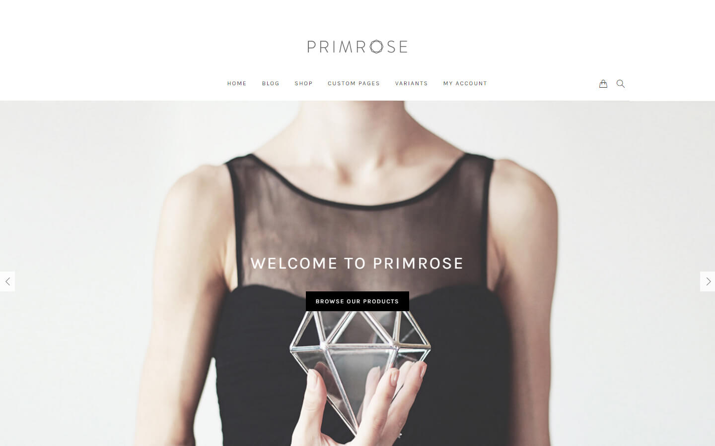 Primrose WooCommerce WordPress theme