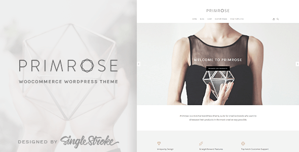 Primrose WordPress Theme compatible WooCommerce