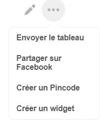 Creer un Pincode de Tableau Pinterest - Yesweblog