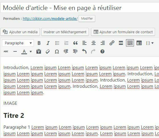 Modele de post clone wordpress