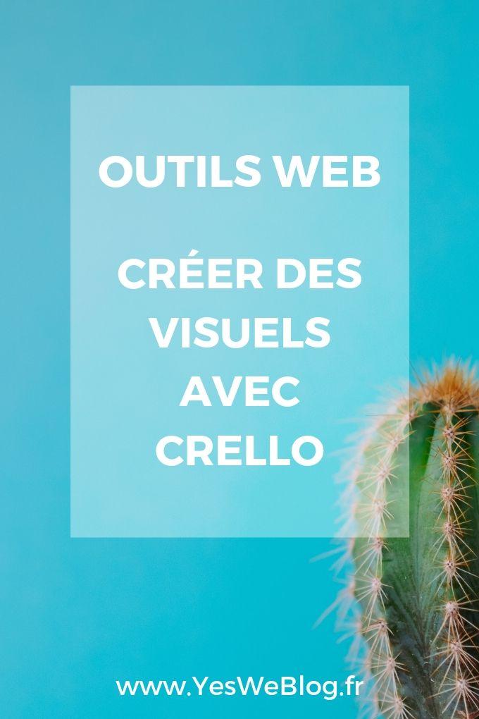 Créer des Visuels avec Crello