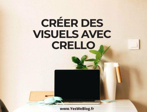 Créer des visuels avec Crello outil web de retouches photo