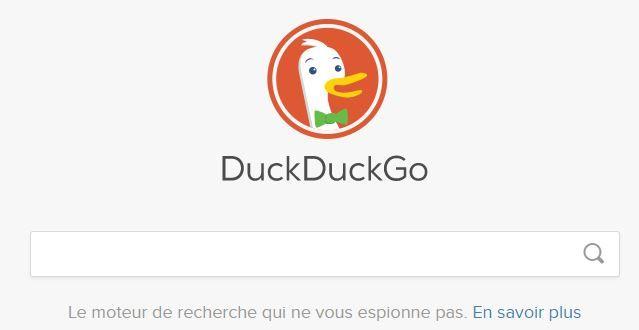 DuckDuckGo le moteur de recherche qui ne vous espionne pas