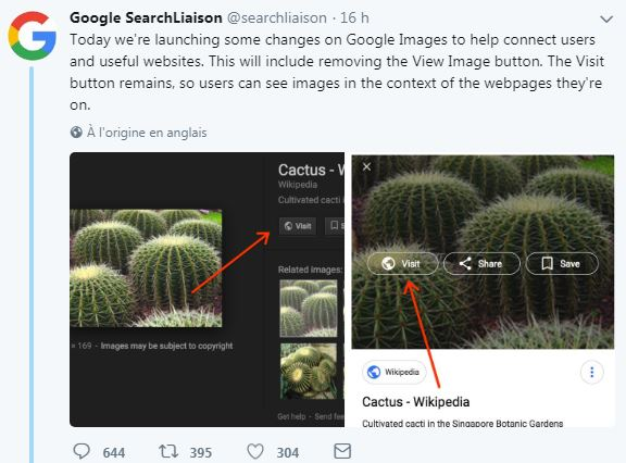 Google search liaison twitter