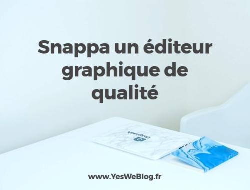 Snappa un éditeur graphique en ligne de qualité
