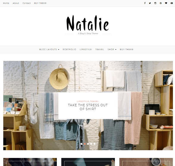 Natalie WP Theme