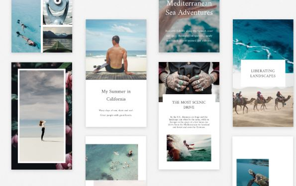 Templates Application Stories Unfold