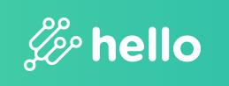 Logo Hello plateforme par Adthink