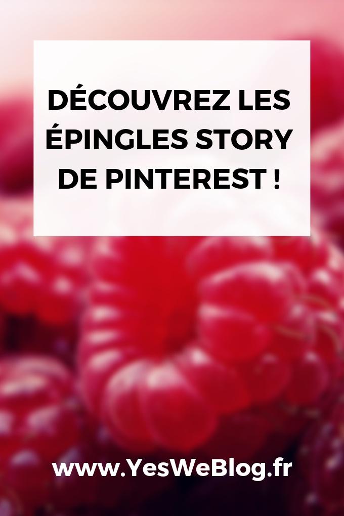 Découvrez les épingles story de Pinterest