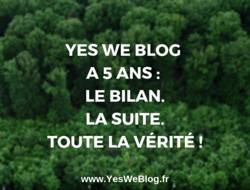 5 ans de YesWeBlog