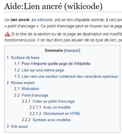 Lien ancré sur wikipedia un grand classique