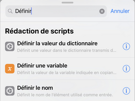definir le nom fichier image photo iphone
