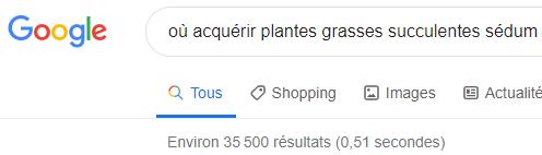 où acquerir plantes grasses succulentes sedum requete google