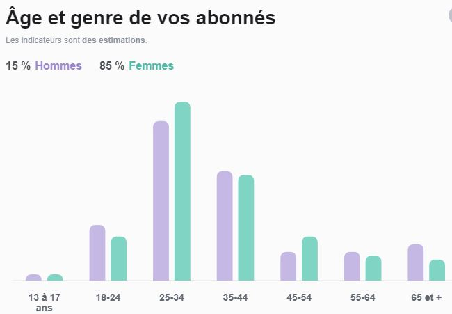 audience compte instagram