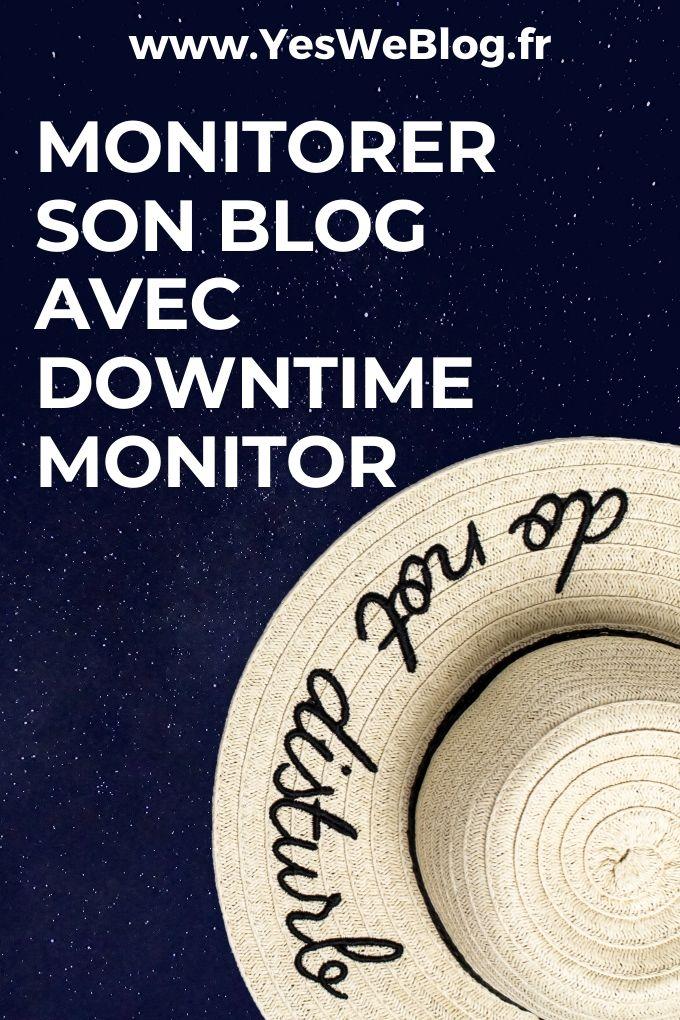 monitoring de site web et blog avec downtime monitor de jetpack