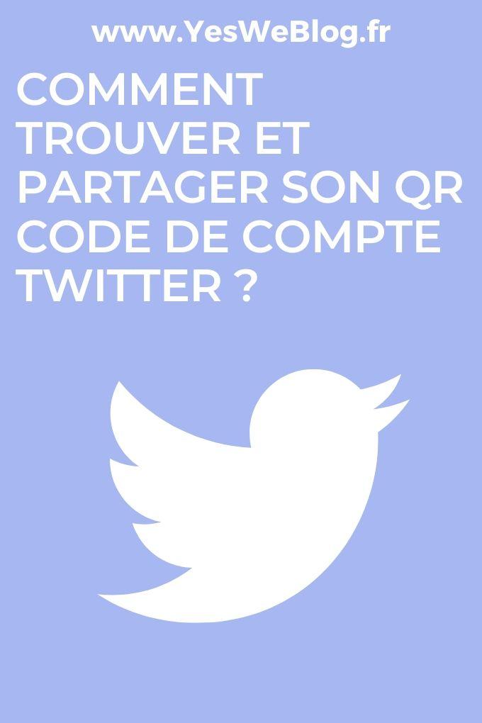 Comment trouver et partager son QR code de compte Twitter
