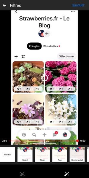 premiere page iphone pour publi video youtube